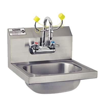 Krowne HS 36   Hand Sink/Eyewash Station, Wall Mount, 15