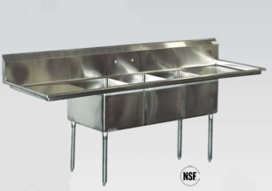 Stainless Steel Compartment Sinks Are A Requirement In Every Commercial Kitchen For Food Preparation And Dish Washing Even If You Have A Commercial
