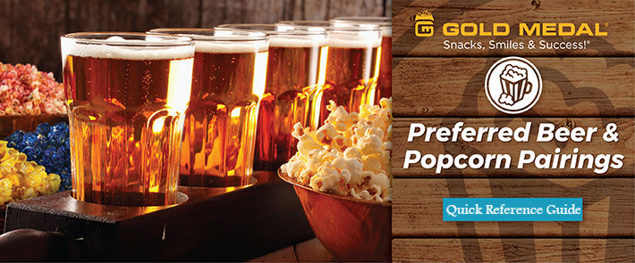 Gold Medal Preferred Beer & Popcorn Pairings