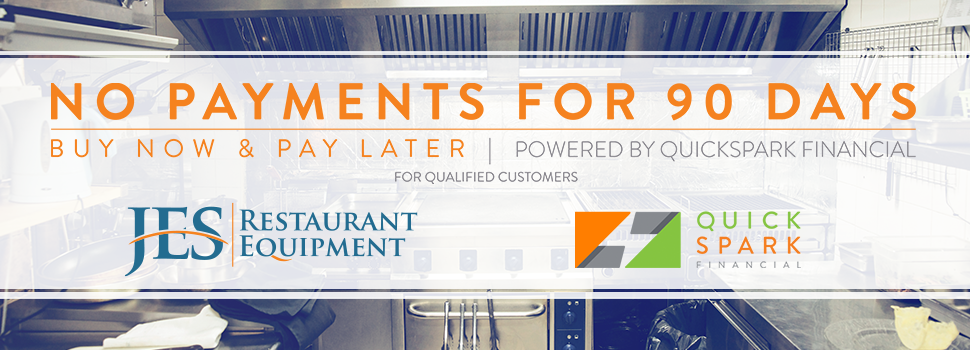 Apply For Financing at JES Restaurant Equipment Today!