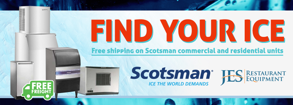 Scotsman Commercial & Residential Ice Machines!