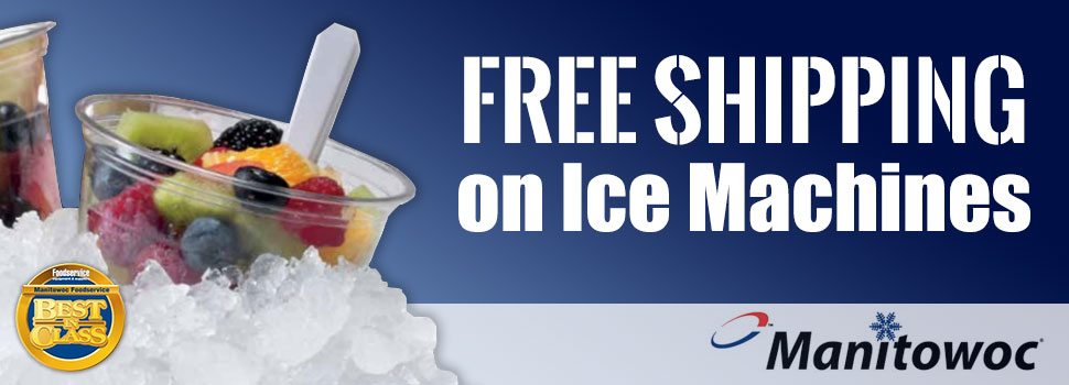 FREE SHIPPING on all Manitowoc Ice Machines