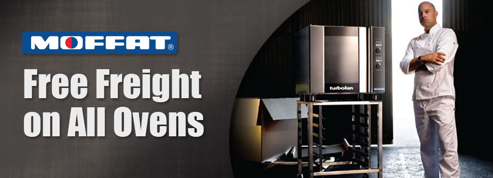 Free Freight on All Ovens