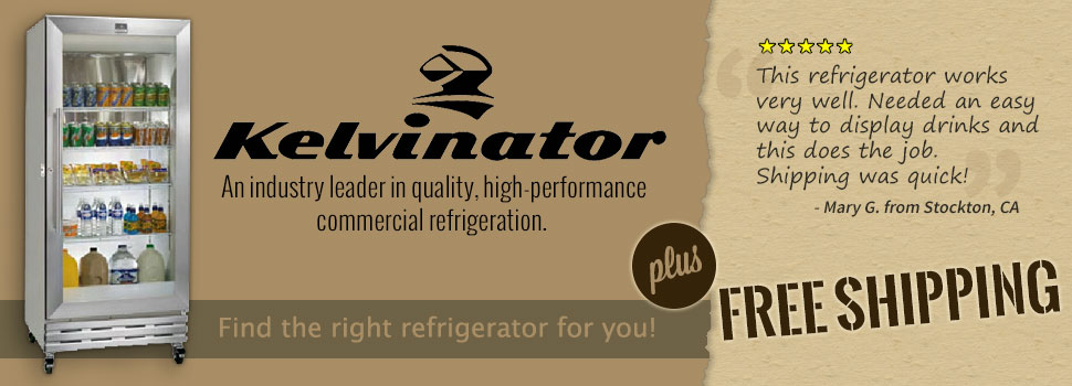 Kelvinator - An industry leader in quality, high-performance commercial refrigeration.