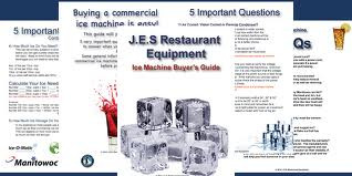 Learn all about ice machines and their parts with our in depth buying guide.
