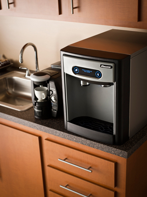 countertop ice machine u0026 water dispenser image may include accessories and may not necessarily depict product color - Countertop Water Dispenser