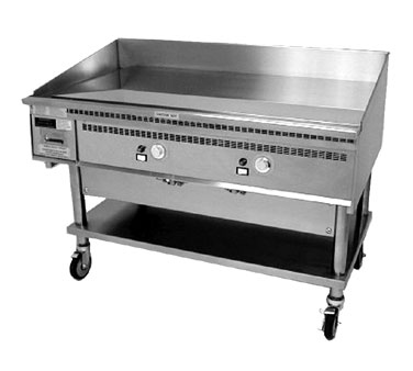 48X30-G Keating - Miraclean Counter Top Gas Griddle, 45 x 24 in.