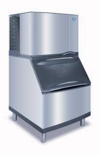 Id 0452a B 400 Manitowoc Indigo Ice Maker 450 Lb With Bin 310 Lb Di