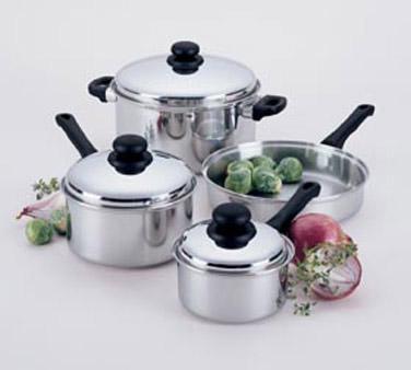 Kpw9007 Focus Foodservice Regal Cookware Set 7 Pc