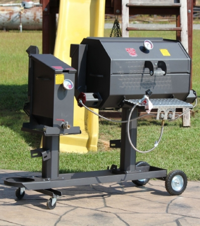 Ff2 20gc R Amp V Works Cajun Fryer And 20 Quot Grill Combo