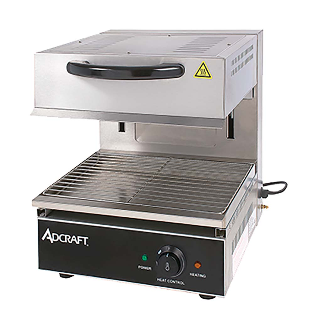 adcraft sal 2800w salamander broiler electric 17 wide countertop - Salamander Kitchen