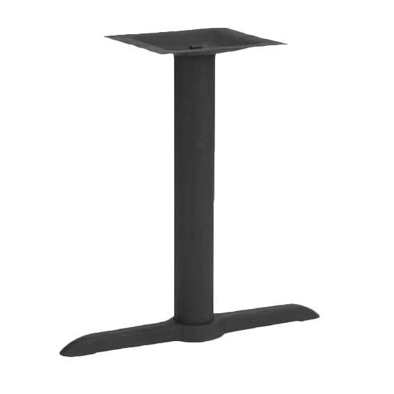ATS Furniture T0522M   Table Base Kit, 2 Piece, 22 X 5 Inch Base, 3 Inch  Column Dia., Black