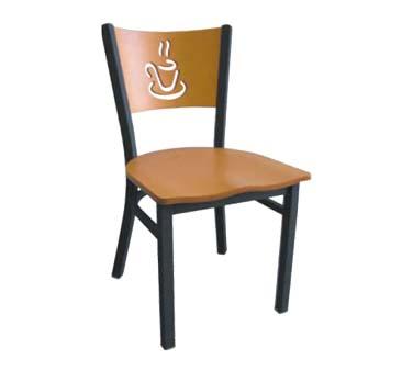 72 vs ats side chair wood back w cup cutout veneer for Chair vs chairman