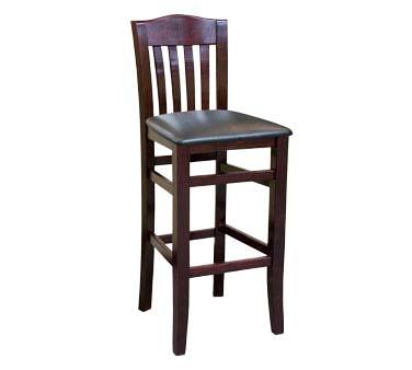 ATS Furniture 830 BS B GR6 Bar Stool slat back  : ATS830 BS DM from www.jesrestaurantequipment.com size 1000 x 1000 jpeg 57kB
