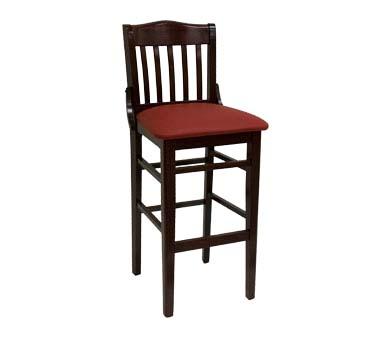 930 BS DM GR5 ATS Furniture Bar Stool slat back grade  : ATS930BSDM from www.jesrestaurantequipment.com size 1000 x 1000 jpeg 56kB