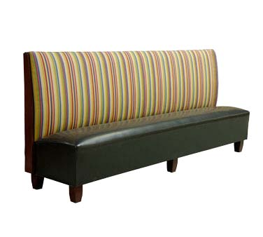 Ats Furniture As36 B Gr6 Biltmore Booth Single 46 Inch