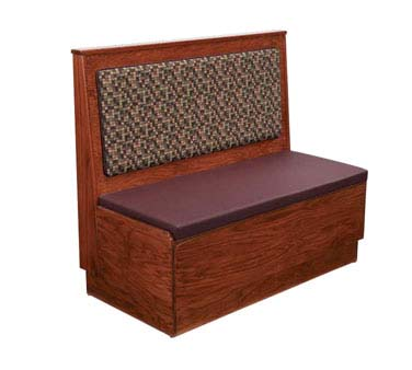 Ats Furniture As48 W Ps W Gr6 Wall Bench 48 Inch H Grade 6 Seat Back Pad Per Foot