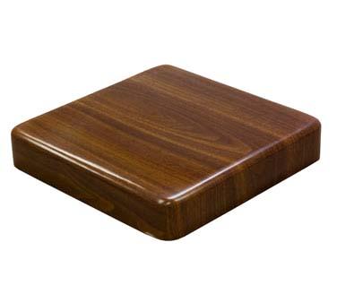 ATR3030-W ATS - Table Top, 30u0026quot; square, resin, 2u0026quot; drop edge, 1u0026quot; radius cnr, walnut finish