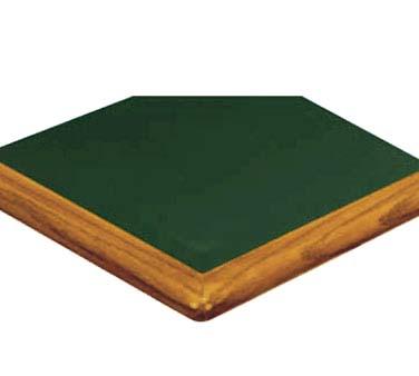 ATS Furniture ATWB3060 W   Table Top, Rectangle, 30 X 60 Inch, Walnut  Bullnose