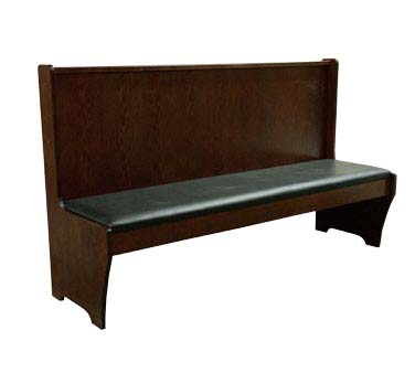 Ats Furniture Aws 72dm Gr6 Dining Booth Single 72 Inch