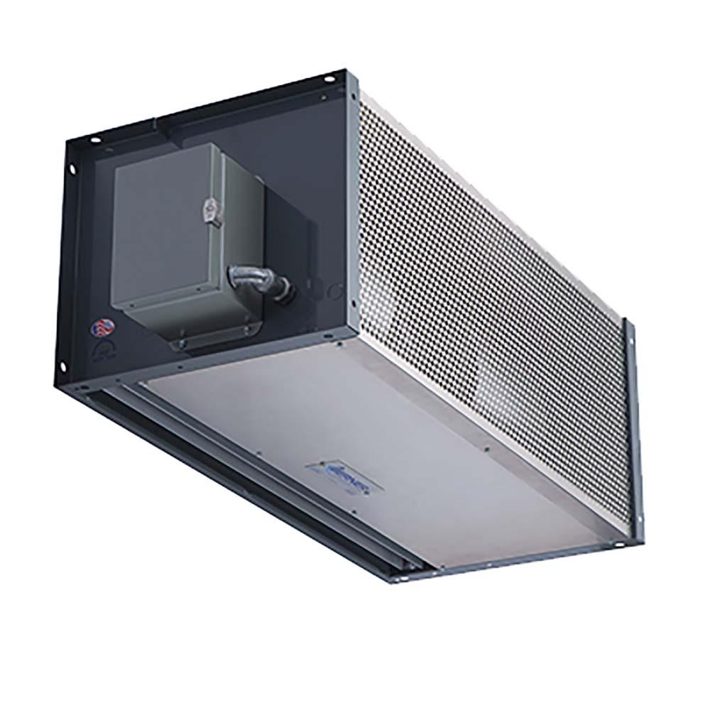 Industrial Air Doors : Berner idc a direct drive air curtain quot long