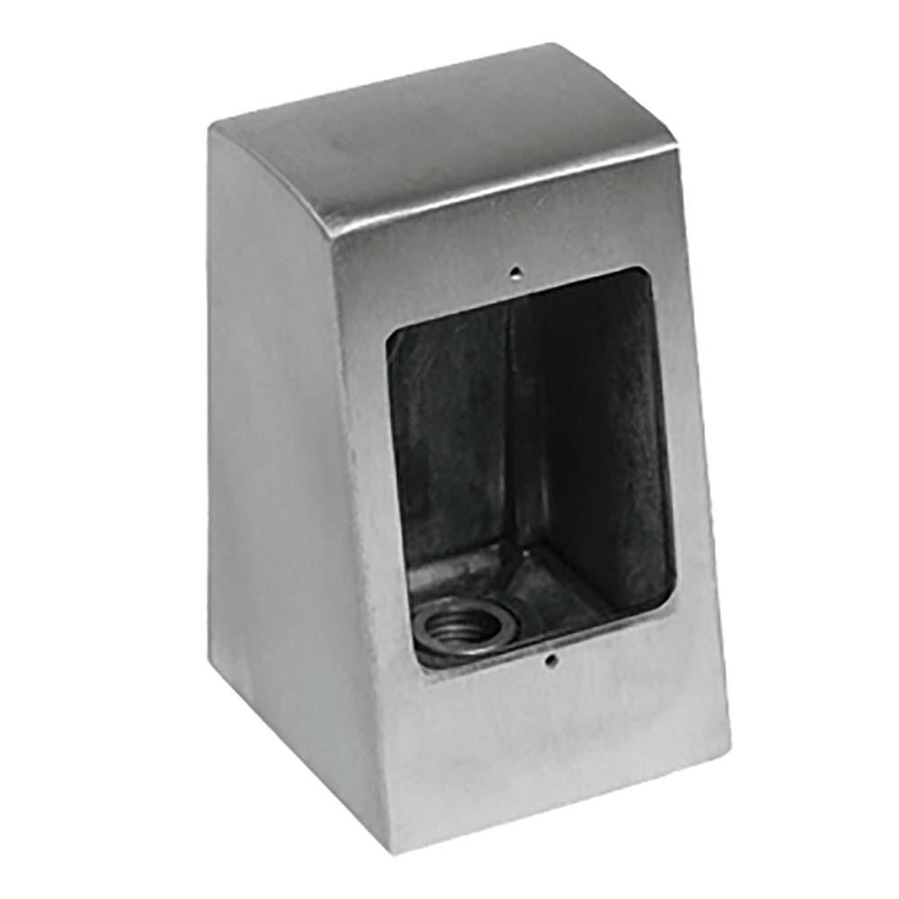 Pedestal Electrical Outlets : Bk resources sopb pedestal box single outlet