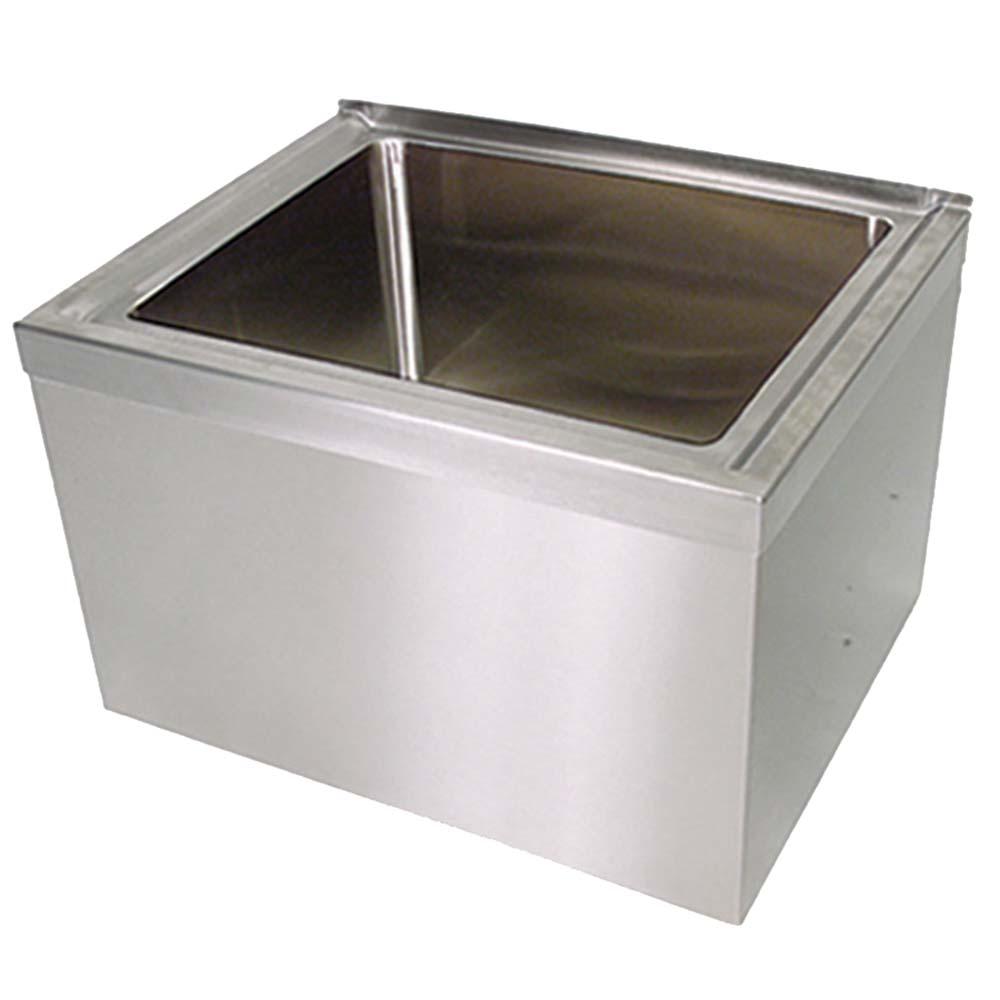 BK Resources BKMS2 2424 12 KIT   Mop Sink, Floor Mount,
