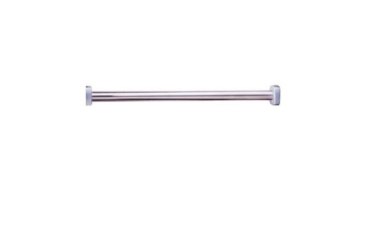Heavy Duty Shower Curtain Rod.Bobrick B 6047x48 Extra Heavy Duty Shower Curtain Rod Type 304 Sta