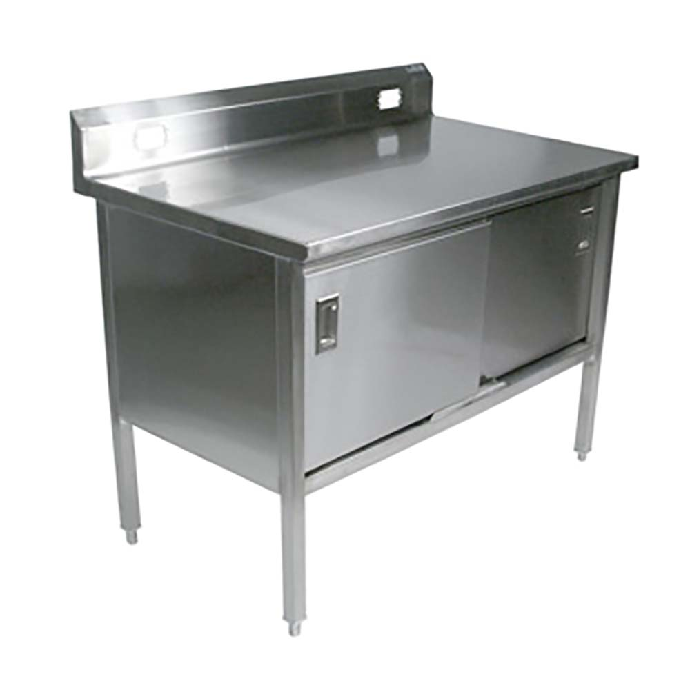John Boos 180 31   Deli Table, 48 X 24 Inch, Stainless Steel
