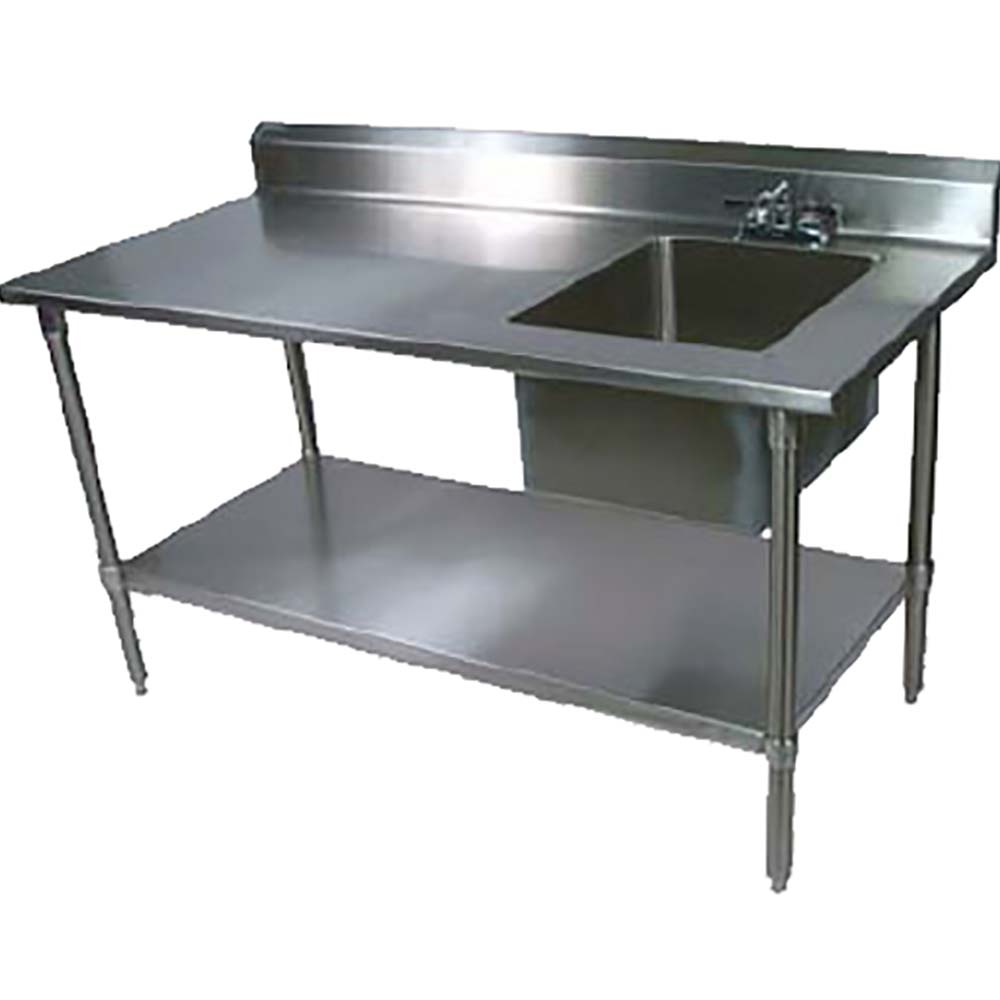Ept6r5 3060gsk R John Boos Work Table 60 Quot W X 30 Quot D S S