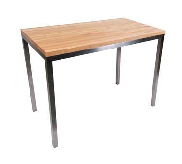 "Kitchen Island 48 X 24 met-cntr4824 john boos - metropolitan kitchen island table, 48"" x"