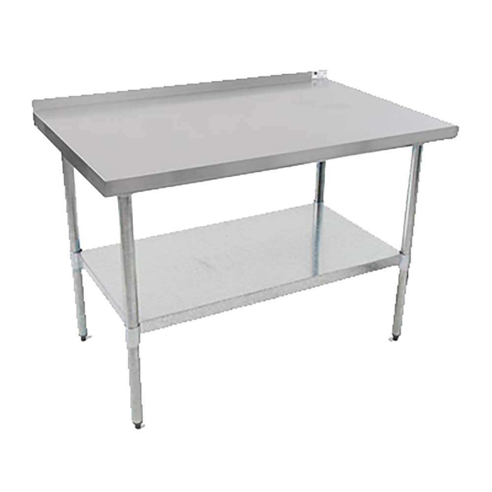 UFBLS John Boos Budget Work Table W X D Ss Top - Stainless steel table 18 x 24