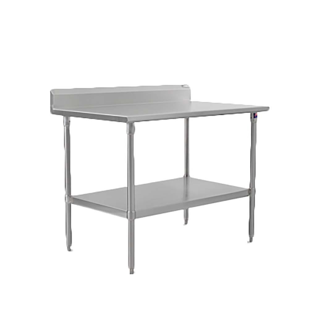 John Boos ST6R5 3036SSK   Work Table, 36 X 30 Inch, 16/