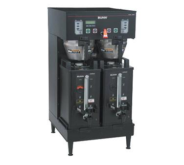 33500.0004 Bunn - Coffee Brewer, DUAL Soft Heat DBC BrewWISE. (2) 3300 watt tank