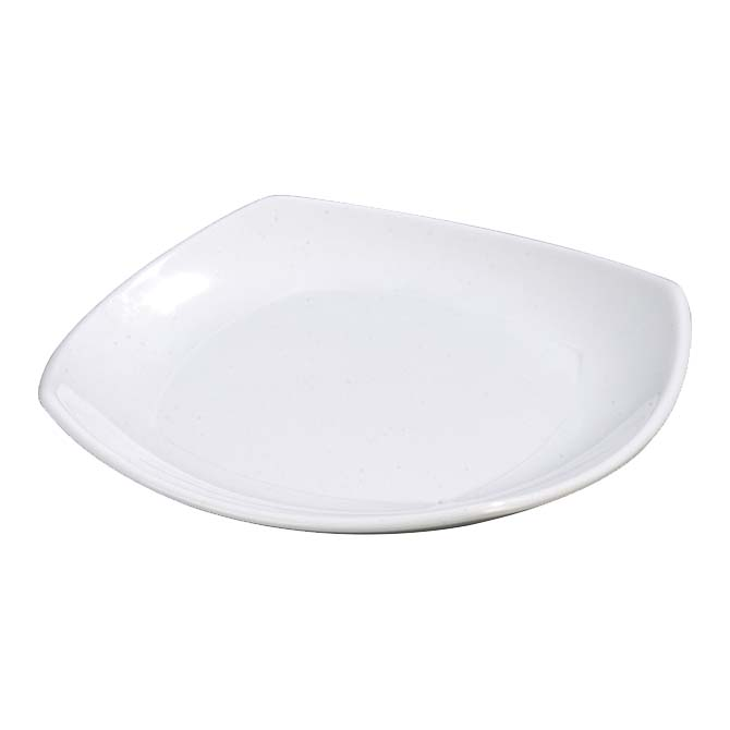 Carlisle 4330802 - Dinner Plate 8 inch x 8 inch  square rolled edge & 4330802 Carlisle - Dinner Plate 8\