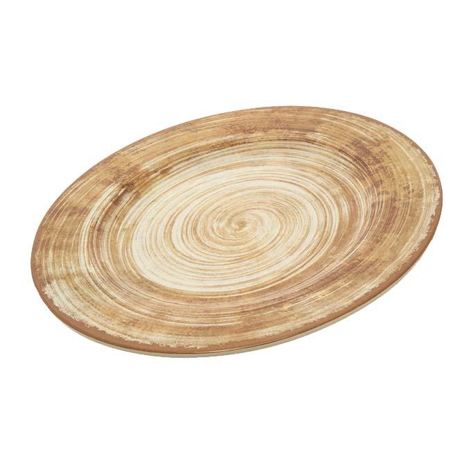 Carlisle 5400117 - Mingle Dinner Plate 11 inch dia. melamine copper  sc 1 st  JES Restaurant Equipment & 5400117 Carlisle - Mingle Dinner Plate 11