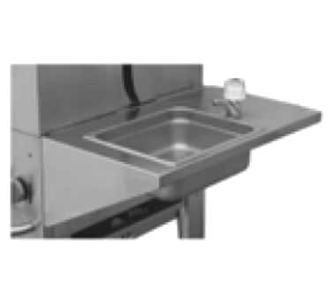 Crown Verity RHS   Removable Hand Sink, Stainless Steel