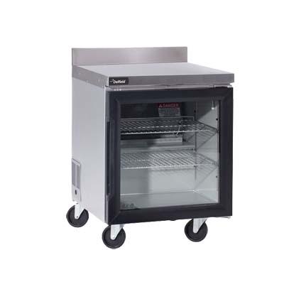 Delfield Gur24bp G Worktop Refrigerator 1 Section 24