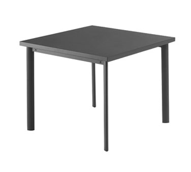 EMU 303   Square Star Table, 40 X 40 X 30 In. (Case