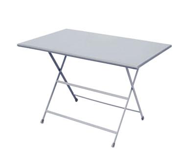 EMU 331   Rectangular Arc En Ciel Folding Table, 44 X 28 X 29