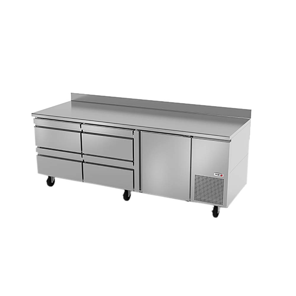 swr 93 d4 fagor worktop refrigerator 93 wide 26 5 4 drawers 1 doors. Black Bedroom Furniture Sets. Home Design Ideas