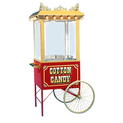 gold medal antique unifloss top cotton candy machine - Cotton Candy Machines