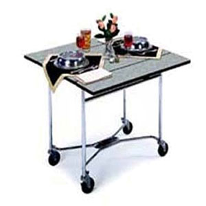 Lakeside 413   Room Service Table, Drop Leaf, Square Top, 36 Inch