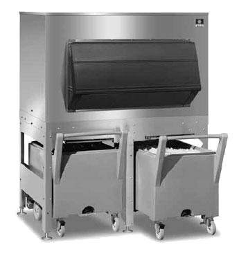 Fc 1350 Manitowoc Ice Bin Cart System