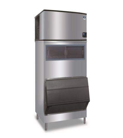 Ice Maker 632 Lb With Bin 520 Lb Cube Style Air Cooled Self Contained Condenser