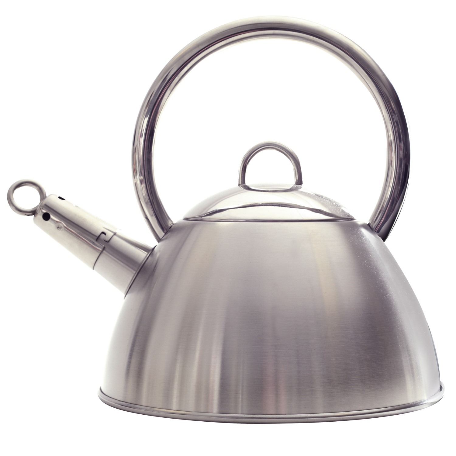 stainless steel whistling tea kettle  qt - norpro   stainless steel whistling tea kettle  qt