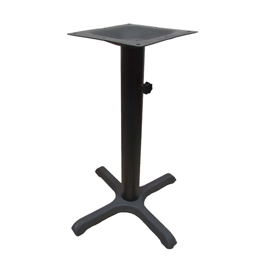 Oak Street B30 ADJ   Table Base, 30 Inch X 30 Inch Spread,