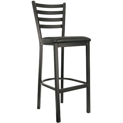 Unique Wood Ladder Back Bar Stools