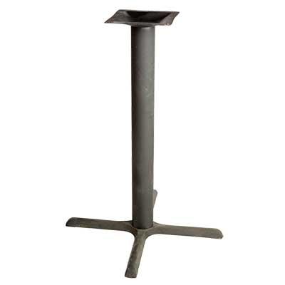 Table Base Outdoor X Base Spread Bar Height Column - 30 inch table base