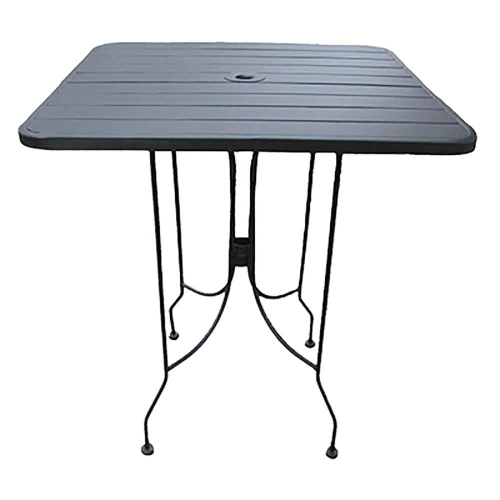 Boardwalk Table Outdoor Rectangular X Standard Height - 48 inch outdoor table
